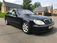 2004 Mercedes-Benz S 430 SE 1 Owner service history stunning car may part ex