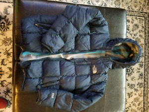 North Face puffer Boys Large size