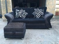 DFS Sofa bed with foot stool, Free delivery