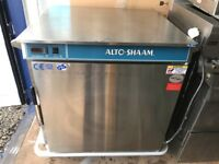 Altoshaam cook and hold warming cabinet, halo heat food warmer