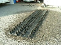 "Argo 6 X 6 tracks (18"") with spacers and studs"