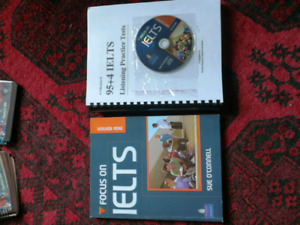 Ielts book with 2 SD and 100 tests