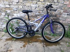 """Girls apollo 24"""" wheel mountain bike"""