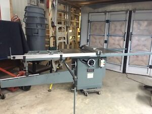 King Cabinet Saw with Sliding CrossCut table