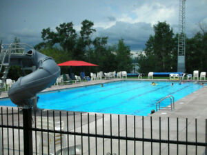Lot and trailer for rent - Carefree Resort at Gleniffer Lake