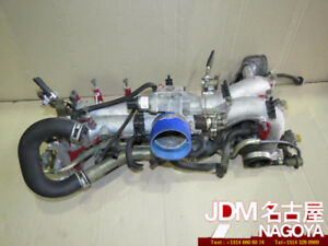 JDM Subaru WRX GC8 STi V5 Intake Manifold Throttle Injectors