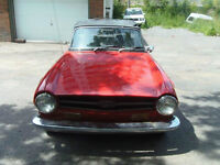 1971 Triumph TR6 with Overdrive for sale
