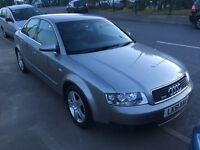 Audi a4 2.5 tdi Quattro manua 2002
