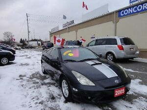 2005 Toyota Celica GT Coupe (2 door) E-TESTED&CERT