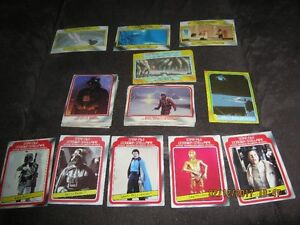Star Wars Trading Cards - 55 Empire Strikes Back Cards