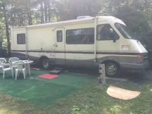 Motorhome,with or without camping site.
