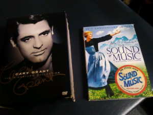 Classic dvd set. Cary grant. Sound of music. 8 movies