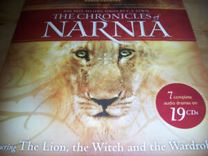 CD audio of THE LION, THE WITCH AND THE WARDROBE, plus 6 others