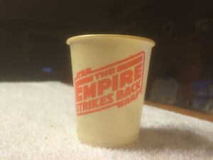 Star Wars Empire Strikes Back Dixie cups