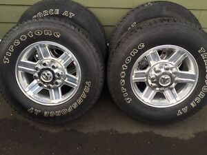 Ram wheels for sale (new tires)