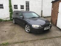 Volvo V70R Estate 300 BHP geartronic AWD 79000 miles only T5R 850R RHD