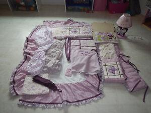 Cocalo Sugar Plum crib/bedroom set
