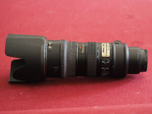 Nikon 70-200mm. VR 2.8 Lens in perfect condition