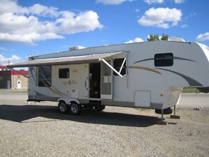trade for classic or newer truck 2008 5th wheel