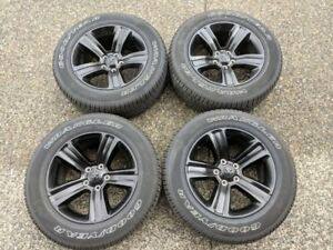 "2018 20"" OEM Dodge Ram 1500 Wheels and Tires…Brand new Take off"