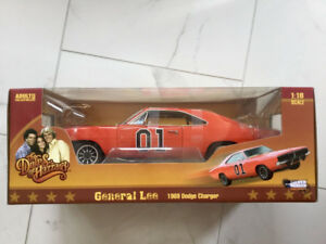 1/18 DIECAST GENERAL LEE THE DUKES OF HAZZARD