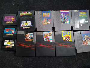 Working NES + Controllers/Games 200 obo