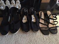 Women's size 8 shoes £10 each