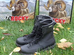 Men's Rocky Winter Leather Police Boots, Brand New!!!! REDUCED!! Kitchener / Waterloo Kitchener Area image 8