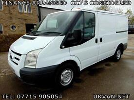 2012 FORD TRANSIT SWB, ONE FLEET OWNER, FULL DOCUMENTED SERVICE HISTORY , TIDY..