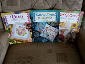 Cross stitch craft books