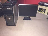 Dell Desktop PC For Sale £60 - Comes With 19 Inch Monitor, Keyboard And Alienware Mouse