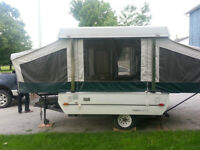 2004 COLEMAN TAOS 8FT BOX TENT TRAILER MINT $3295OBO