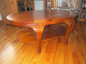 table de salon en teck