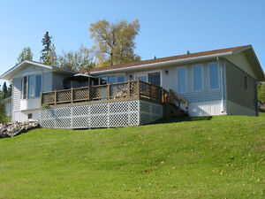 Lakefront year round home with 40x60 shop on Perrault Lake, Ont.