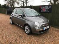 2011 Fiat 500 0.9 Twin Air Dualogic Lounge 1 Owner Full Fiat S/History BIG SPEC