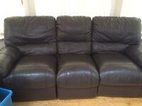 Leather genuine sofas