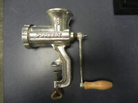 Antique Porkert No.#8 Meat Grinder London Ontario Preview
