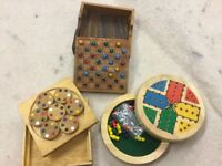 X 3 wooden games
