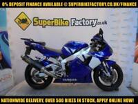 2002 02 YAMAHA R1 1000CC 0% DEPOSIT FINANCE AVAILABLE