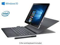 Samsung 2in1 Galaxy Book 10.6 LTE, Intel Core 7th Gen CPU, 64GB SSD +32GB FLASH