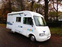 Pilote Galaxy 40 four berth A class motorhome with end bathroom for sale