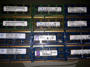 Various 4GB Sticks Of Laptop Ram, 1 for $20 or 2 for $30