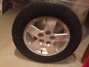 4 Winter tires and 2 all season tires for sale