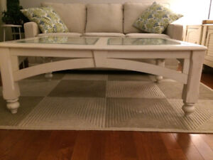 Quality, solid wood coffee and end tables