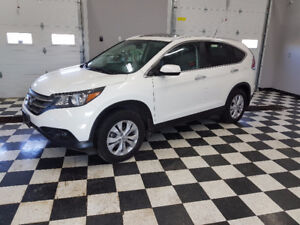 2014 Honda CR-V Touring SUV, AWD, Navigation, Leather