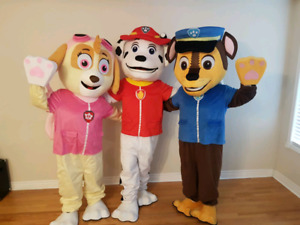 Mascots parties an events