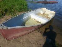 12 foot fiberglass boat