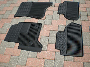 FRONT AND REAR SUMMER FLOOR MATS FOR PICKUP