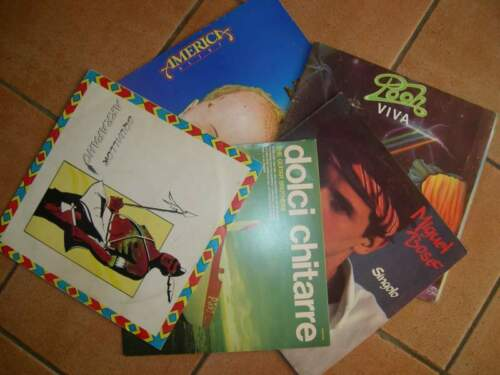 N° 5 lp 33 bose',the guitar brothers,pooh,...