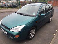 Ford Focus estate 1.6 £395